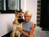 Megy with owner´s mother